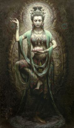 ✯ Shakti - The primordial force that sets the Universe in motion. ✯