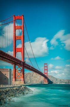 ~~Welcome to  ..  San Francisco  :) | Golden Gate Bridge, California | by Omar Alshareef~~
