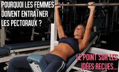 Pourquoi les femmes doivent entraîner les pectoraux ? | Musculation au féminin