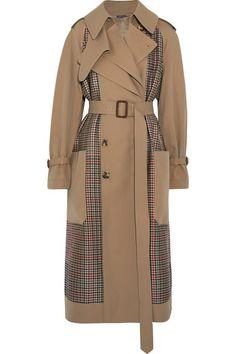 Londra Moda Haftası'nın 3 Sokak Stili Trendi / Alexander McQueen Street Style Trends of London Fashion Week / Alexander McQueen Trench Coat Sale, Brown Trench Coat, Belted Coat, Long Brown Coat, Designer Trench Coats, Iranian Women Fashion, Tweed Coat, Wool Coat, Street Style Trends