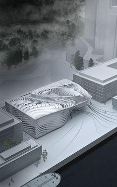Architecture Model Más