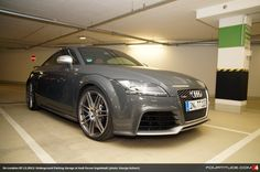 Audi TT RS in Nimbus Grey