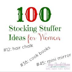 100 Stocking Stuffer Ideas for Women