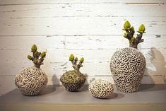 Прорастающая керамика Eliane Monnin - Ярмарка Мастеров - ручная работа, handmade