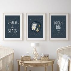 Moon and stars nursery, nursery ideas from Sunny and Pretty. Space nursery wall art perfect for a modern, simple space themed nursery decór. Nursery art and nursery prints to complete your nursery decor project. Our nursery wall art is made with love and is designed to reflect your nursery wall decor style. 🖤 Get excited about decorating for your little one! #sunnyandpretty Playroom Decor, Nursery Wall Decor, Nursery Themes, Nursery Art, Nursery Ideas, Room Ideas, Kids Bedroom Boys, Baby Boy Rooms, Bedroom Prints