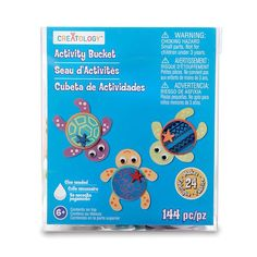 Tribal Turtles Activity Bucket by Creatology®