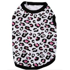 Zrong Pet Puppy Summer Cotton Shirt Small Dog Cat Leopard Clothes Vest T Shirt >>> Find out more about the great product at the image link. (This is an affiliate link and I receive a commission for the sales) #Pets
