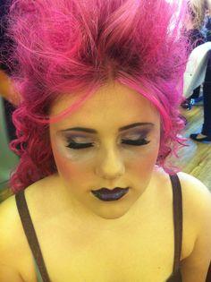 Gothic Fairy Panto Make Up
