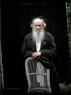 Leo Tolstoy by Karl Bulla Leon Tolstoy, Russian Literature, Writers And Poets, Famous Words, Book Writer, Personalised Photo Mugs, Find Art, Anna Karenina, World History