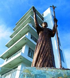 """Pope John Paul II Tower"" Bacolod City  http://morionworld.blogspot.com/2012/01/morions-travelthe-sugar-capital-of.html"