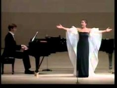 Kathleen Battle - Rossini: Una voce poco fà 09 / Kathleen Battle (Soprano) Dan Saunders (Piano) Japan 1987 - GORGEOUS VOCALS!