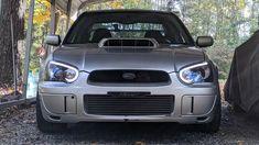For 02-07 Subaru Impreza WRX STI Top Mount Turbo Intercooler Chrome Bar /& Plate
