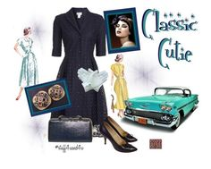 """""""Classic Cutie"""" by stuff4uand4u ❤ liked on Polyvore featuring Barneys New York and stuff4uand4u"""
