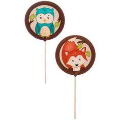 Fox & Owl Cupcake Picks