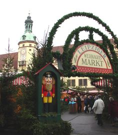 German Christmas Markets in Leipzig, Germany -  Travel Photos by Galen R Frysinger, Sheboygan, Wisconsin