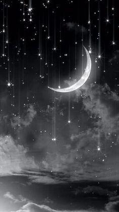 imagenes de la luna y las estrellas para colorear