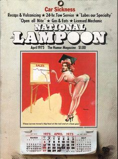 National Lampoon April 1975
