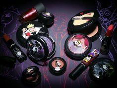 Coleção de maquiagem inspirada em vilãs da Disney, da marca MAC.