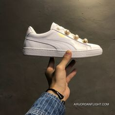 8c572e579702 Puma Suede Platform Bling Original New Arrival 2018 Women s Skateboarding  Shoes Sneakers Whisper White