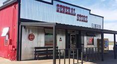 General Store of Elmer is located on Highway 283 between Vernon, Texas, and Altus, Oklahoma, at 17503 US-283.