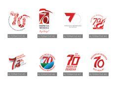 Kumpulan Logo tidak resmi HUT RI ke-70 Logo Design Inspiration, Case Study, Instagram Feed, Behance, Logos, Logo
