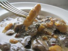 A vegan obsession: Butternut squash gnocchi in a rich sage & mushroom sauce - I think I'll diffently try this!