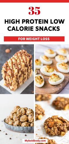 Healthy Low Calorie Snacks, Low Fat Snacks, Low Calorie Desserts, High Protein Snacks, High Protein Low Carb, No Calorie Foods, High Protein Recipes, Low Calorie Crackers, Healthy Sweets