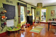 Ideas interesantes para decorar una sala de juegos para niños http://www.habitamos.com.ar/decoracion/como-decorar-cuarto-de-juegos-infantil.html