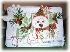StitchyStamper: Mum & Dads Christmas Card 2013...............