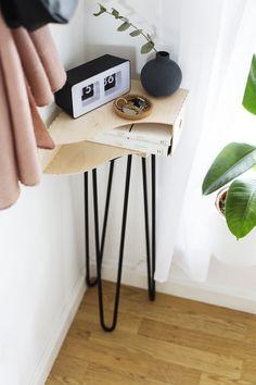 DIY Hallway Storage With Shurgard | hallway updates | home decor | clever crafts