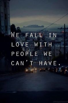 The worst part is when someone lets us fall in love with them when their in love with someone els