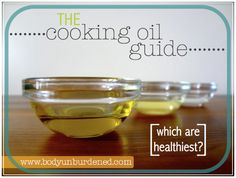 When it comes to cooking oil, you have like a hundred options. But of course, if you want to stay healthy, you need to make a smart choice. Picking the right cooking oil isn\'t just about finding out what\'s healthy, it\'s also about finding out what\'s healt