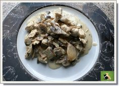 Vie quotidienne de FLaure: Les champignons de Paris accompagnent du poulet na...