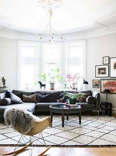 Living room vintage&modern