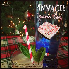 #10 on our Cocktail Countdown is a Pinnacle® White Russian.  1 part Pinnacle® Peppermint Bark Vodka 1 part Kamora® Coffee Liqueur 1 part Irish Cream Shake over ice and pour into a glass with ice.