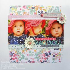 I made this layout using the September Creative Kit from My Creative Scrapbook kit club. It features the Creative Agenda collection from Echo Park. Baby Scrapbook, Scrapbook Pages, Scrapbooking, Image Layout, Project 4, Scrapbook Designs, Echo Park, Sketch Design, Happy Day