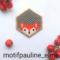 WEBSTA @ pauline_eline - Ça marche aussi avec les renards ! Bon, j'avoue que je préfère les chats, mais le renard a une place spéciale dans mon coeur... #jenfiledesperlesetjassume #miyukibeads #miyukiaddict #miyuki #perleaddict #perles #renard #fox #motifpauline_eline #brickstitch