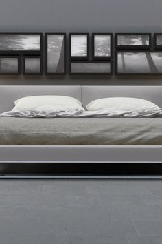 Chelsea Platform Bed - Warm Gray and the photos..................