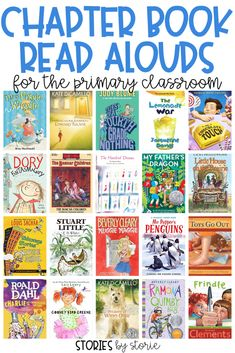 Chapter Book Read Alouds for the Primary Classroom Reading aloud to my students allows me to share my passion for reading, expose my students to books they might not choose for themselves, introduce a. 4th Grade Reading, Kids Reading, Teaching Second Grade, Summer Reading Lists, Reading Time, Teaching Reading, Teaching Ideas, Learning, Reading Fluency