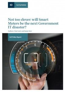 View or download the IoD report: Not too clever: Will Smart Meters be the next Government IT disaster?  http://www.takebackyourpower.net/news/2015/03/27/uk-iod-smart-meters-are-a-government-it-disaster-waiting-to-happen/