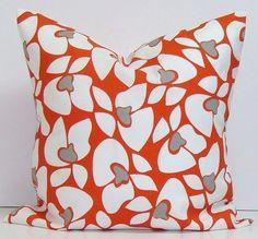 ORANGE OUTDOOR PILLOW16 inch Decorator Pillow by ElemenOPillows, $17.00