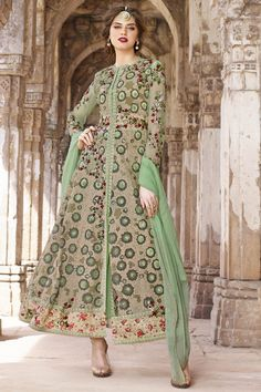 #HAPPY #JANMASHTAMI Buy This Light Green Net Traditional Long Anarkali Salwar Kameez with Heavy Embroidery Work. Buy Now:- http://www.lalgulal.com/salwar-kameez/light-green-net-traditional-long-anarkali-salwar-kameez-with-heavy-embroidery-work-710 Cash On Delivery & Free Shipping only in India. For Other Query Just Whatsapp Us on +91-9512150402 Or Mail Us at info@lalgulal.com.