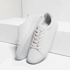 LACE-UP PLIMSOLLS-View all-SHOES-WOMAN   ZARA United States