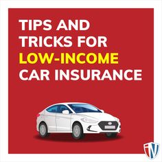 Finding affordable insurance is difficult, especially when you are constraint by a strict budget. Swipe left to learn some valuable hints when shopping for a low-income auto insurance policy.