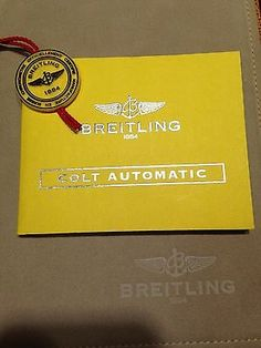 manuals and guides 93720 breitling colt automatic watch instruction rh pinterest com Breitling Colt Quartz Breitling Colt Automatic
