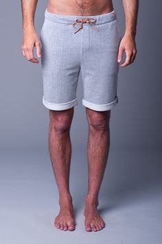 Lifetime Collective / Men's Collection / SHORTS / KICK START - HEATHER GREY