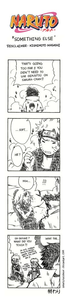 Naruto Doujinshi - Something Else by SmartChocoBear.deviantart.com on @DeviantArt
