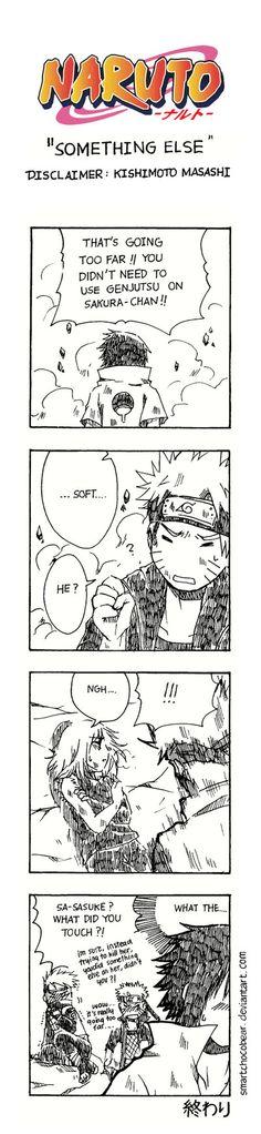 Naruto Doujinshi - Something Else by SmartChocoBear.deviantart.com on @DeviantArt