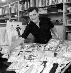 Tom Tierney, Who Made Paper Dolls an Art Form, Dies at 85 - NYTimes.com - We've lost an incredibly talented artist.