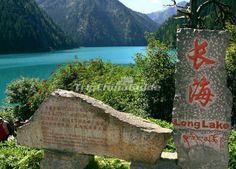 Long Lake at Jiuzhaigou Valley